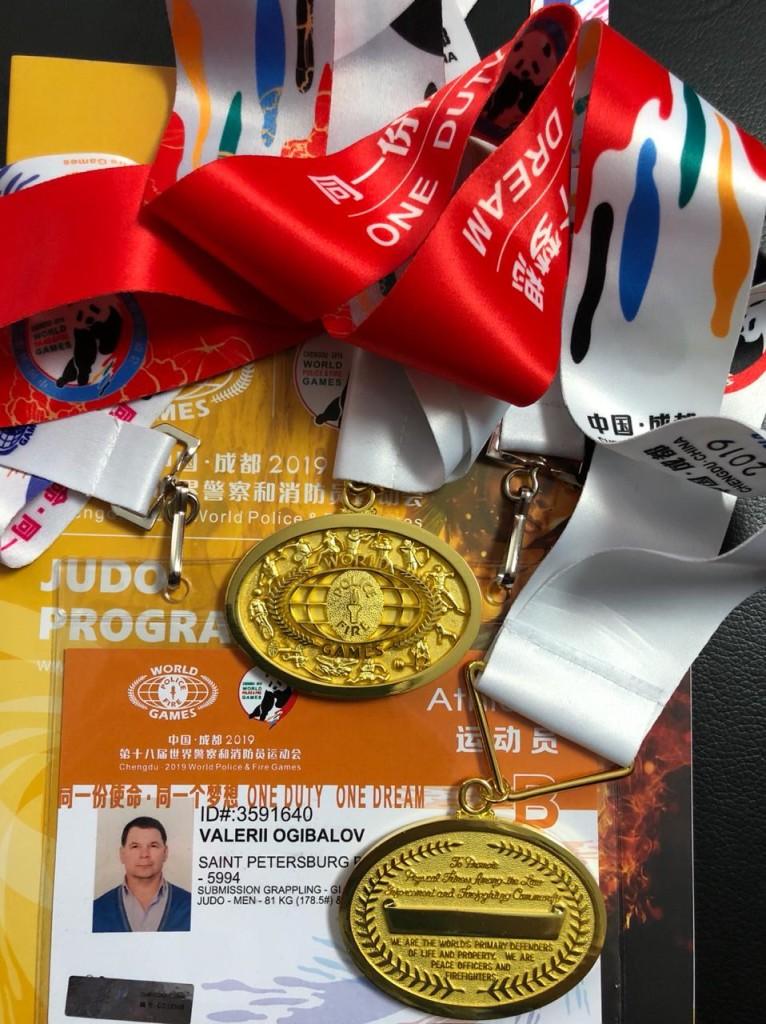 Медали Всемирных игр среди полицейских и пожарных